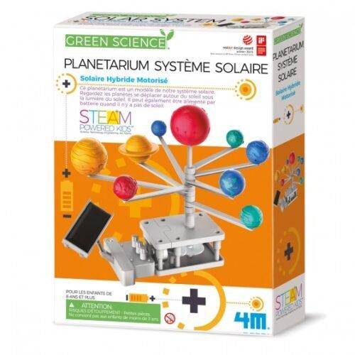 Foto van Green science bouwpakket zonnestelsel (franstalige verpakking) 2