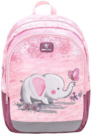 Foto van Rugzak met olifant 33 x 13 cm polyester 12 liter roze 2