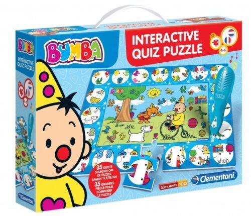Foto van Bumba interactieve puzzelquiz 35-delig