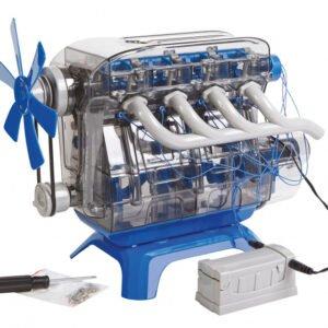 Foto van Bouwmodelset mindblown 4 cilinder motor 104-delig
