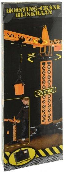 Foto van hijskraan met afstandsbediening 55 cm oranje 2