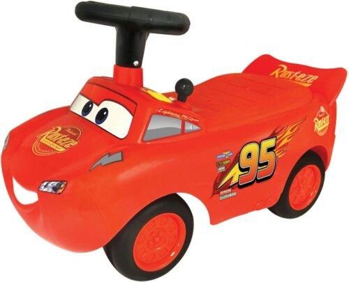 Foto van loopwagen Cars Lightning McQueen jongens rood