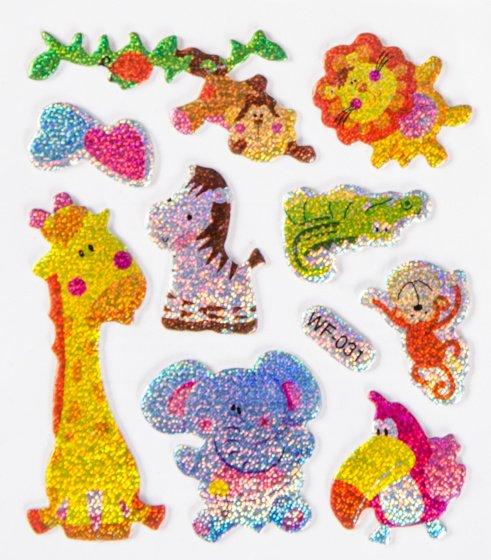 Foto van Stickervel giraf junior 7 x 11