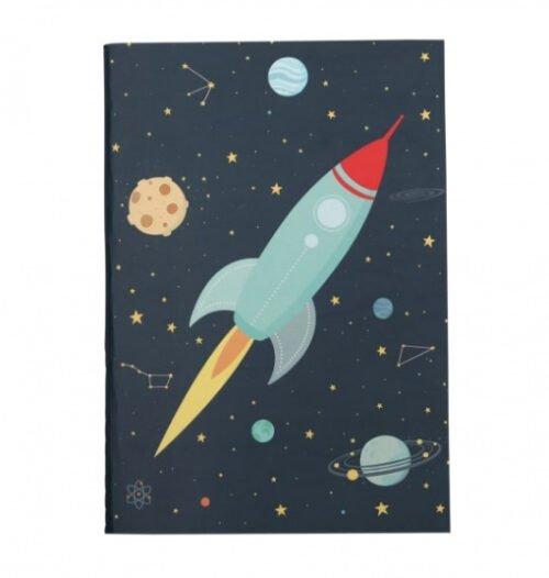Foto van Schriften space junior 21 cm papier 2-delig 2