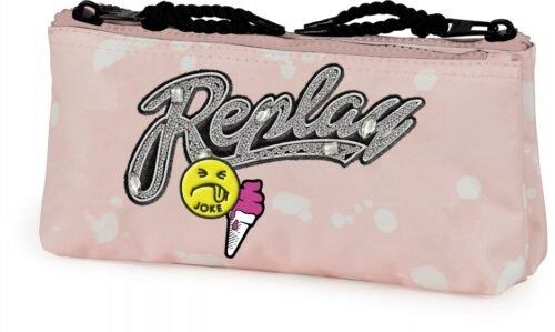 Foto van Etui replay girls roze 10 x 21 x 6 cm